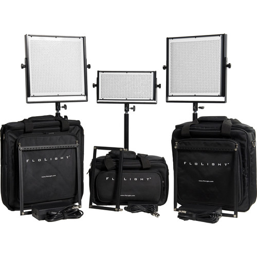Flolight MicroBeam 1- 512 / 2- 1024 Three Light Standard LED Kit