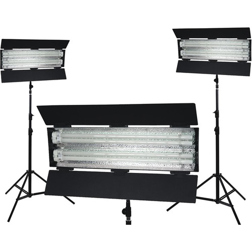 Flolight KIT-FL-110AW 3-Point Lighting Kit (3000K Tungsten)