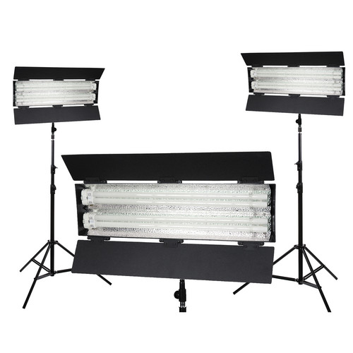 Flolight KIT-FL-110HM3 3-Point 3000K Lighting Kit (110-240 VAC)