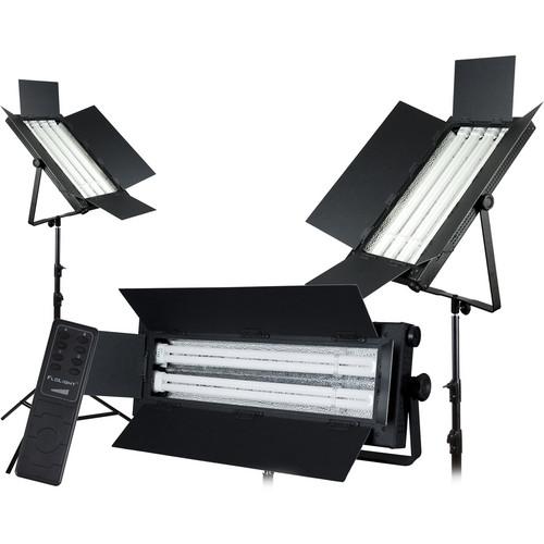 Flolight 1- FL-110AWT / 2- FL-220AWT 3 Fluorescent Light Kit (3,000K)