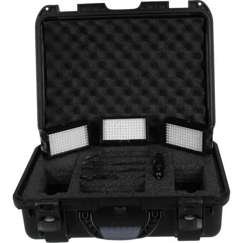 Flolight MicroBeam 3- 128 Custom 3 Light LED Kit with ATA Flight Case