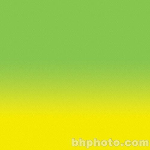 "Flotone Graduated Background - 43x63"" - Lemon-Lime"