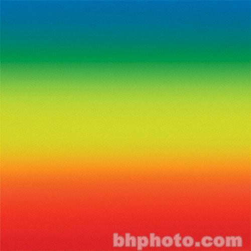 "Flotone Graduated Background - 43x63"" - Rainbow"