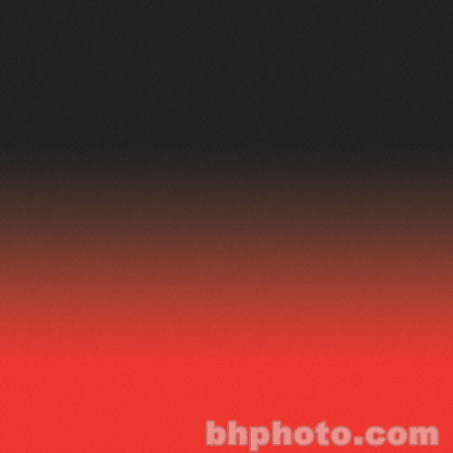 "Flotone 43x67"" Graduated Background (Red/Black)"