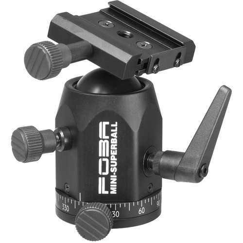 Foba Mini Superball Plus Ballhead with  Quick Release Clamp