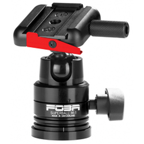 Foba Superball M-1 Ballhead with Quick Release (Requires Plate) - Supports 18 lb (8.1 kg)