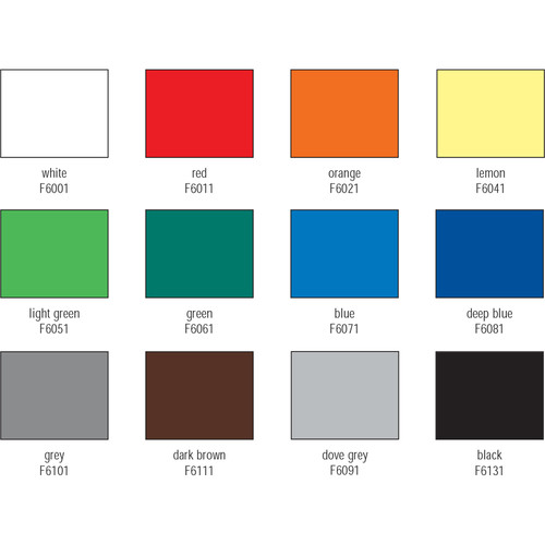 "Foba TT Plast Plastic Background Sheets (Set of 12 Backgrounds, 51 x 40"" Each)"