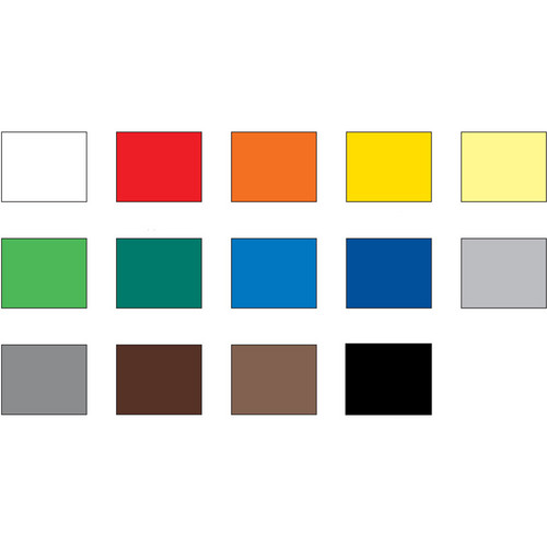 """Foba TT Plast Reference Color Chart (51 x 40"""")"""