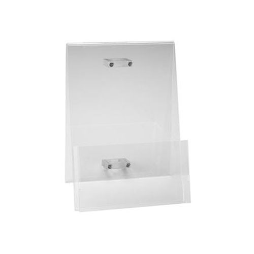 Foba Transparent Brochure Holder (A4) for COMBITUBE