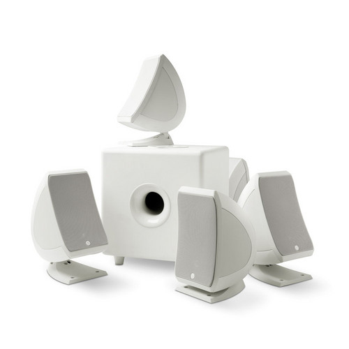 Focal Sib & Co 5.1-Channel Home Theater Pack (Gloss White)