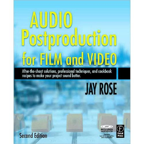 Focal Press Book/CD: Audio Post-Production For Film and Video by Jay Rose
