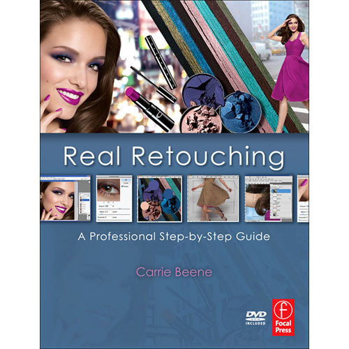 Focal Press Book/DVD: Real Retouching: A Professional Step-by-Step Guide