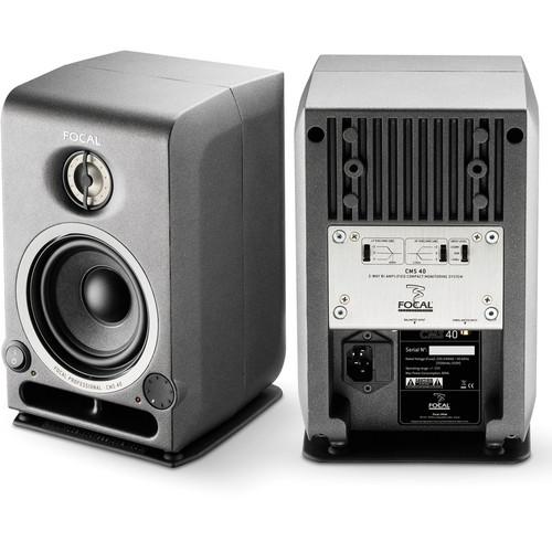 "Focal CMS 40 4"" Active 2-Way Studio Monitor (Single)"