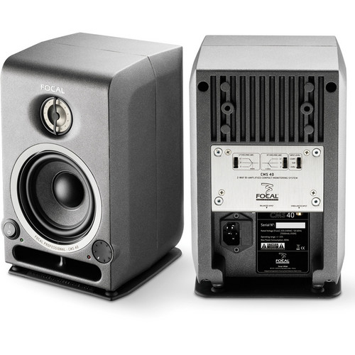 "Focal CMS 40 4"" Active 2-Way Studio Monitor (Single)"