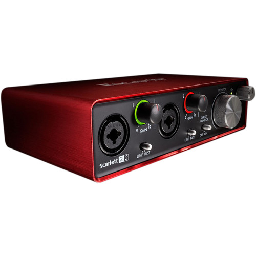Focusrite AKG Perception 220 Mic + Focusrite Scarlett 2i2 USB Interface Bundle