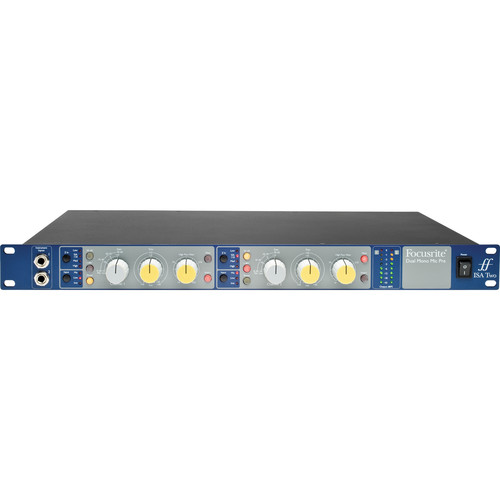 Focusrite ISA Two Rackmount 2-Channel Microphone Preamp