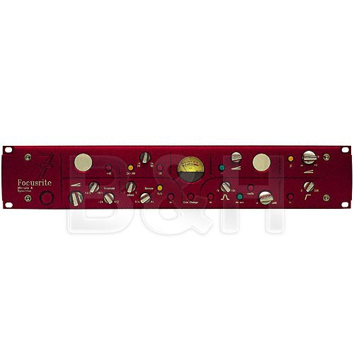 Focusrite RED 7 Classic Microphone Preamplifier with Dynamics