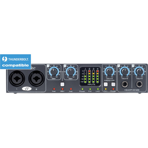 Focusrite Saffire PRO 24 DSP - 16 x 8 Audio & MIDI FireWire Interface with On-Board DSP