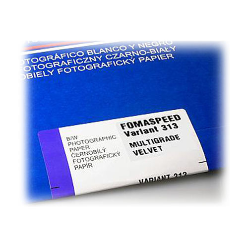 """Foma FOMASPEED VARIANT III B&W Variable-Contrast Photographic Paper (8 x 10"""", 25 Sheets, Velvet)"""