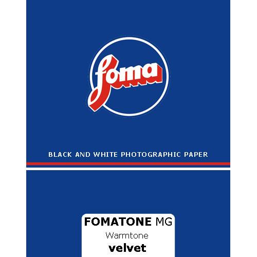 Foma Fomatone MG  8x10/25 - Velvet Surface Paper