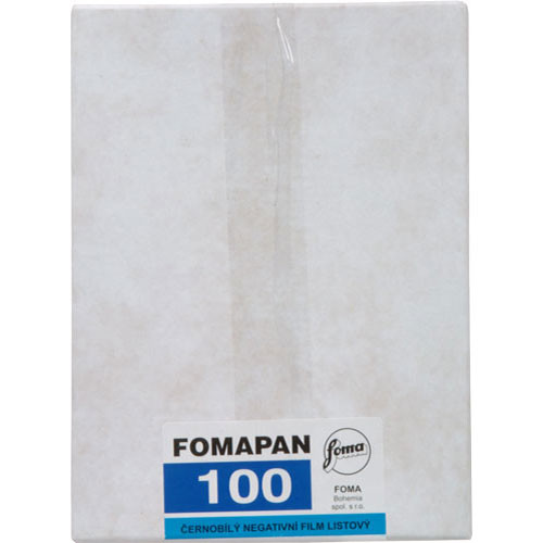 "Foma Fomapan Classic 100 5 x 7"" Black and White Print Film (50 Sheets)"