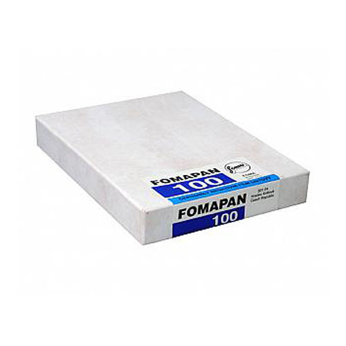 Foma Fomapan 100 Classic B&W Negative Sheet Film (9 x 12cm, 50 Sheets)