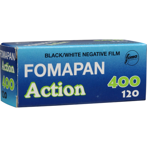 Foma Fomapan 400 Action Black and White Negative Film (120 Roll Film)
