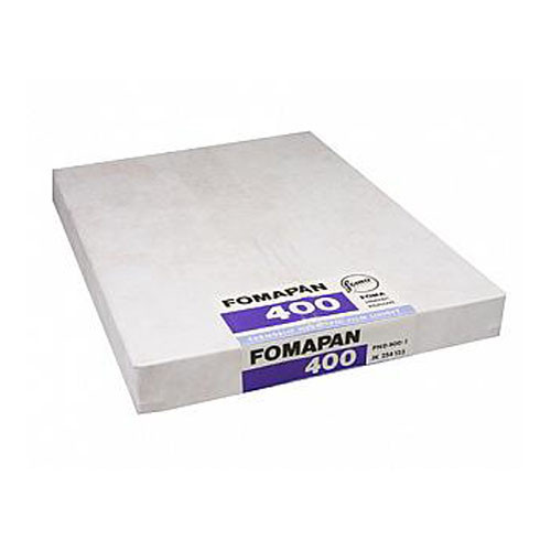 "Foma Fomapan 400 Action B&W Negative Sheet Film (5 x 7"", 50 Sheets)"