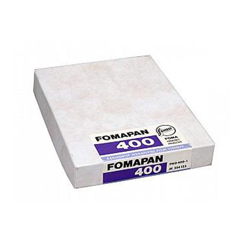 "Foma Fomapan 400 Action B&W Sheet Film (3.5 x 4.5"", 50 Sheets)"