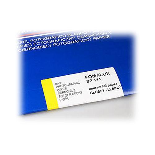 "Foma FOMALUX FB 111 Grade 2 B&W Paper (8 x 10"", 100 Sheets, Glossy)"