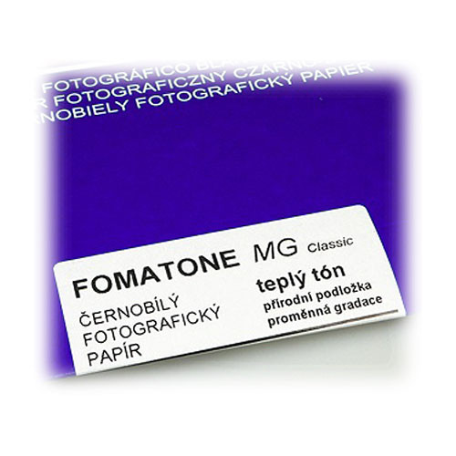 "Foma FOMATONE MG Classic B&W Variable-Contrast Photographic Paper (8 x 10"", 25 Sheets, Matte)"