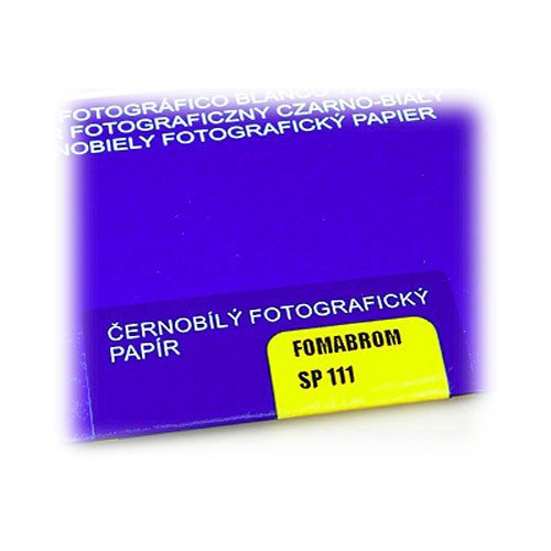 "Foma FOMABROM FB Grade 4 B&W Paper (11 x 14"", 25 Sheets, Glossy)"
