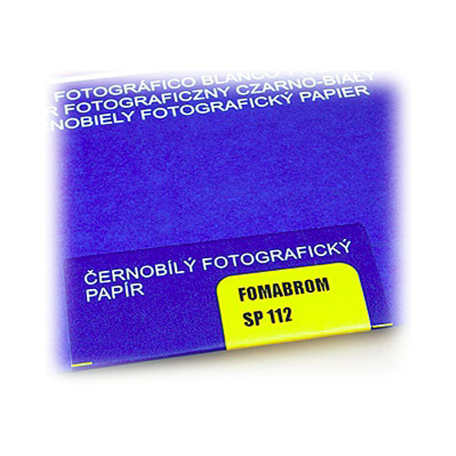 "Foma FOMABROM FB Grade 4 B&W Paper (8 x 10"", 25 Sheets, Matte)"