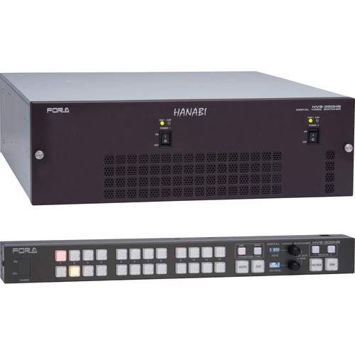 For.A HVS-350HS Type C 1.5 M/E Switcher