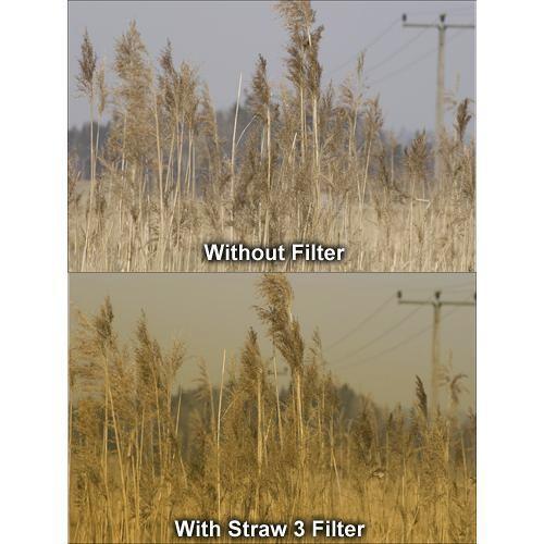Formatt Hitech 105mm Graduated Straw 3 Filter