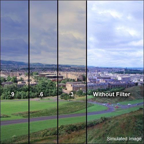 Formatt Hitech 105mm Combination 85B and Neutral Density (ND) 0.9 Glass Filter