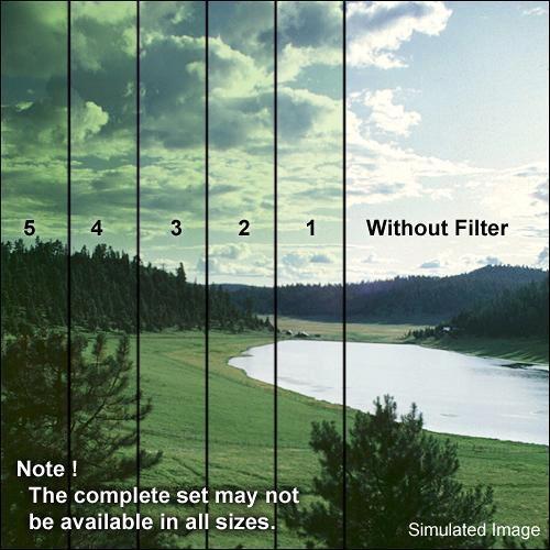 Formatt Hitech 127mm Graduated Green 1 Filter