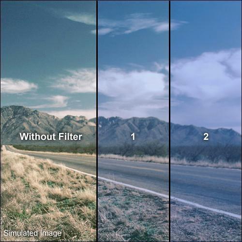 "Formatt Hitech Solid Color Cool Blue Filter (3 x 3"")"