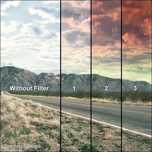"""Formatt Hitech 3 x 3"""" Graduated Sunset 1 Filter"""