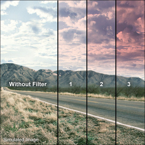 "Formatt Hitech Blender Tuscan Pink Filter (3 x 3"")"