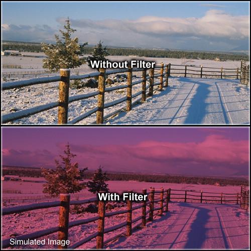 "Formatt Hitech Solid Color Cranberry Filter (3 x 3"")"