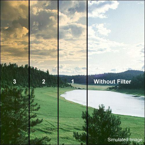 "Formatt Hitech 3 x 3"" Color Graduated Autumn 2 Filter"