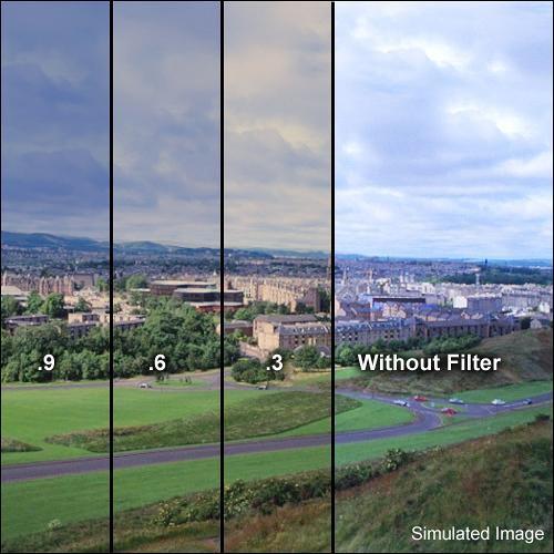 "Formatt Hitech 3 x 3"" Combination 85B/Neutral Density (ND) 0.6 Filter"