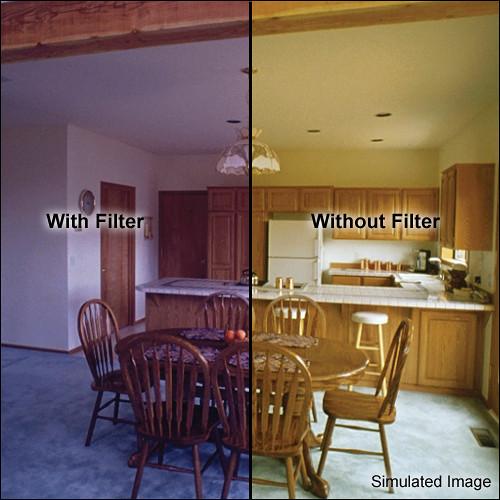 "Formatt Hitech 3 x 3"" CC 60B Blue Color Compensating Filter"