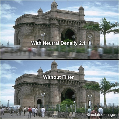 "Formatt Hitech Neutral Density (ND) 2.1 HD Filter (3 x 3"")"