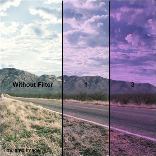 Formatt Hitech 40.5mm Solid Lavender 1 Filter