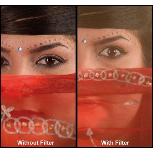 Formatt Hitech 40.5mm HD Super Soft Gold 3 Glass Filter
