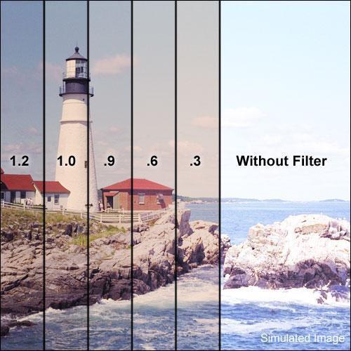 "Formatt Hitech 4 x 5.65"" 81EF Hard Edge Graduated 1.2 ND Combination Filter"