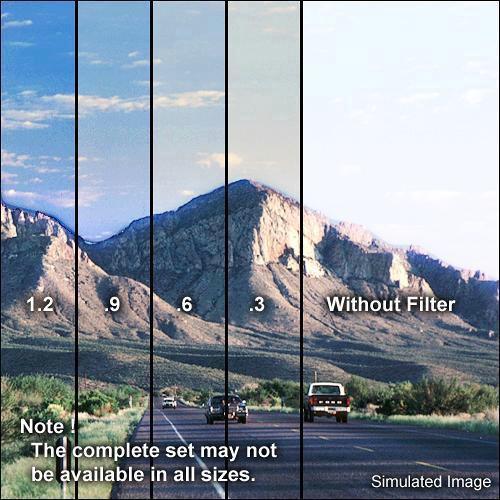 "Formatt Hitech 4 x 5.65"" Combination 85 Color Conversion/Graduated Neutral Density (ND) 0.6 Filter"