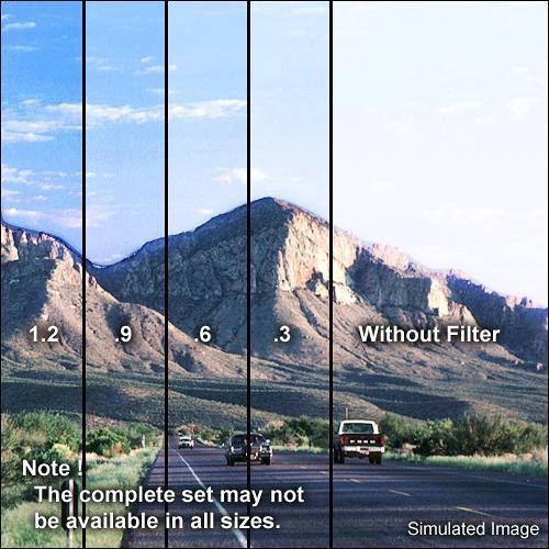 """Formatt Hitech 4 x 5.65"""" Graduated Neutral Density 0.9 Filter"""